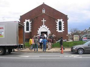 EARLIER CHURCH AT TORRESDALE ROAD, PHILADELPHIA