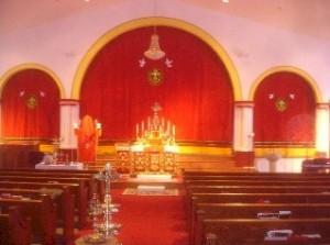 WORSHIP SERVICE HALL AT BENSALEM CHURCH